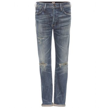 citizens of humanity - corey slouchy slim-fit jeans