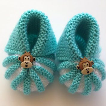 Crochet Baby Booties Newborn Shoes Knitted Booties Baby Girl Booties Infant Shoes White Baby Slippers