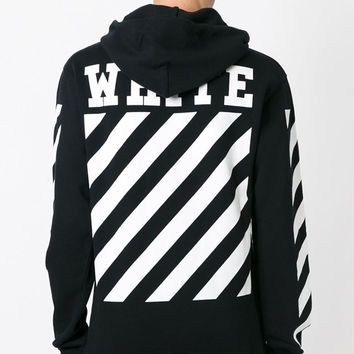 OFF WHITE Hoodie Men Harajuku Brand Sweatshirt Hip hop Oversize Tracksuit Justin Bieber Same Hoodies Trasher Pullover Male S-3XL