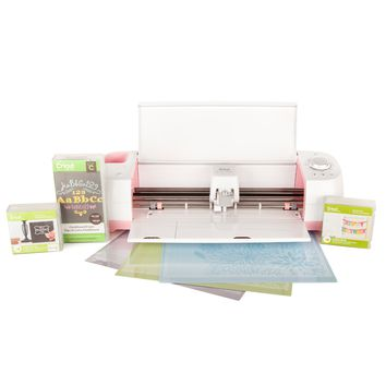 Cricut Explore One™ Pink Poppy Machine + Basic Fonts Set - Cricut Explore One - Machines