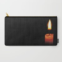 Light in the Darkness Carry-All Pouch by Sierra Christy Art