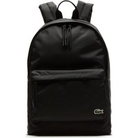 Lacoste Neocroc Canvas Backpack | Black