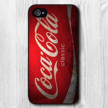Vintage Coke Protective Cover Case For iPhone 5C 5/5S 4/4S