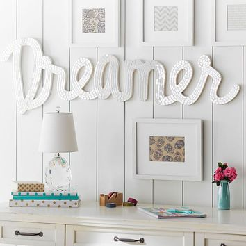 Junk Gypsy Dreamer Mirrored Wall Art