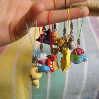 Pokemon Cell Phone Charm by GerriMakeaWishe on Etsy