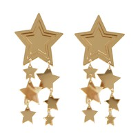 Star Drizzle Earrings - Gold