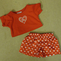 Build-A-Bear Bearly Loved Outfit 03-010g * Fabric * -- Used