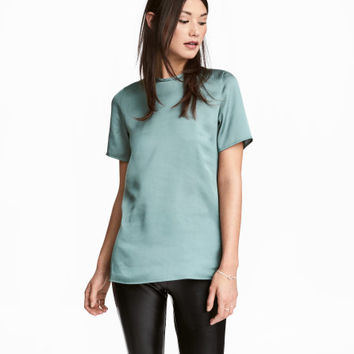 Short-sleeved Top - from H&M