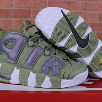 "[Free Shipping]Nike  Air More Uptempo ""Shine""Basketball Sneaker"