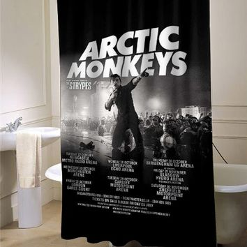 artic monkeys Album shower curtain - myshowercurtains