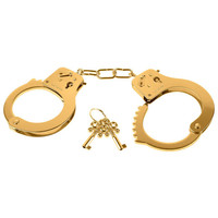 LIQUID GOLD HANDCUFFS