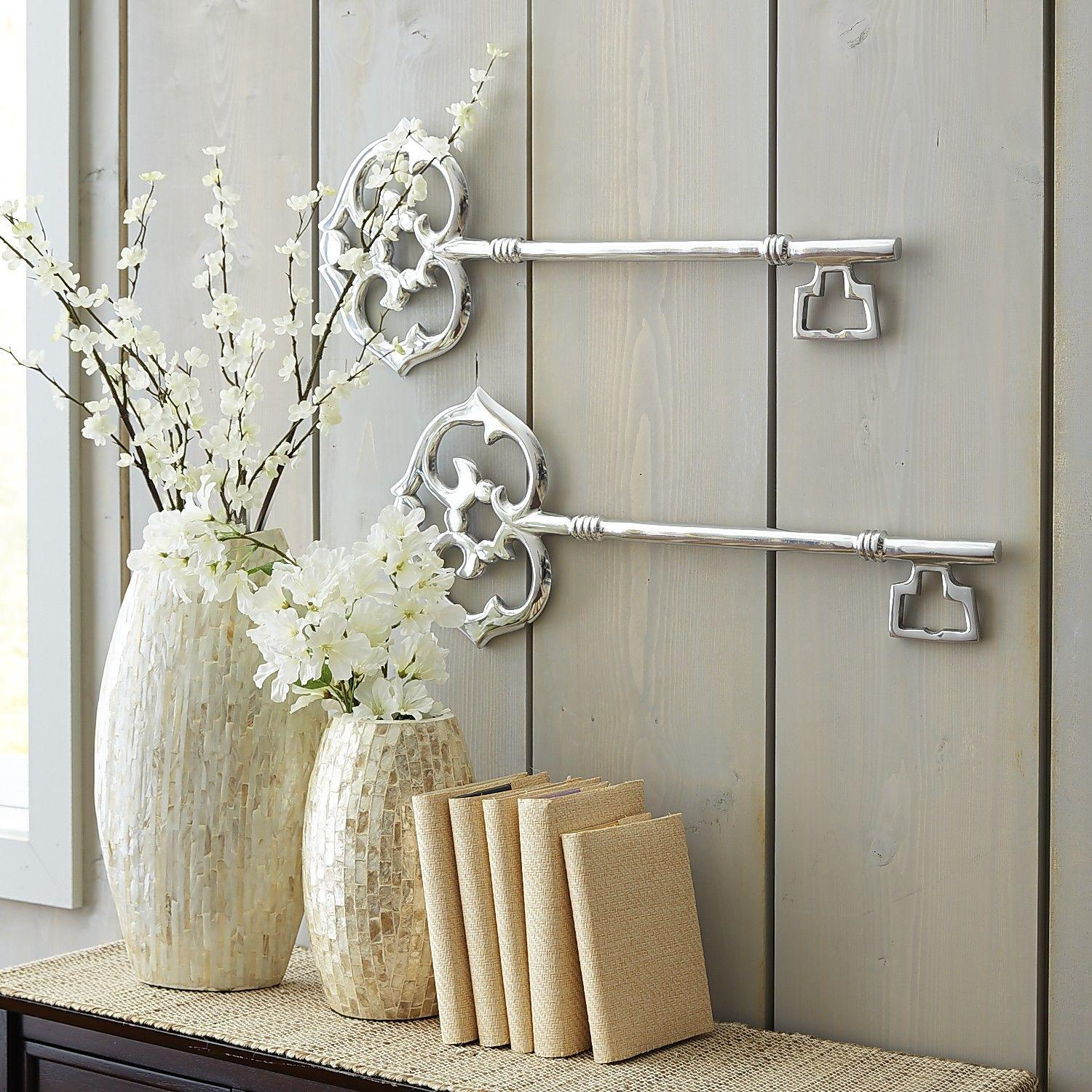 Aluminum key wall decor from pier 1 imports decor i like for Accessories decoration