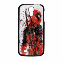 Deadpool Painting Samsung Galaxy S4 Case