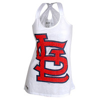 St. Louis Cardinals Women's Sublime Racerback Tank by Concept Sports - MLB.com Shop