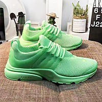NIKE AIR PRESTO New fashion mesh couple running shoes Green