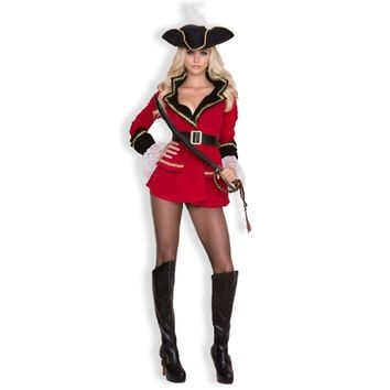 Women Pirate Costumes Fancy Carnival Performance Adult Rider cloth female Pirate Cosplay Costume for Hallween Party Fancy Dress