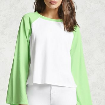 Vented-Sleeve Baseball Tee