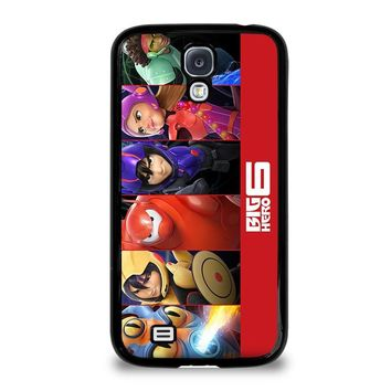 BIG HERO 6 '3 Disney Samsung Galaxy S4 Case Cover