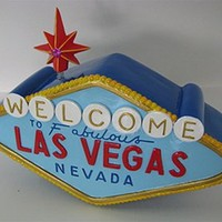 Las Vegas Sign Coin Bank