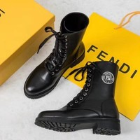 Fendi Fashion warm Martin boots