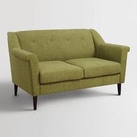 Green Navarre Upholstered Loveseat