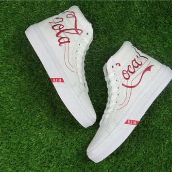 KITH x Coca-Cola x Vans Running Shoes 35-44