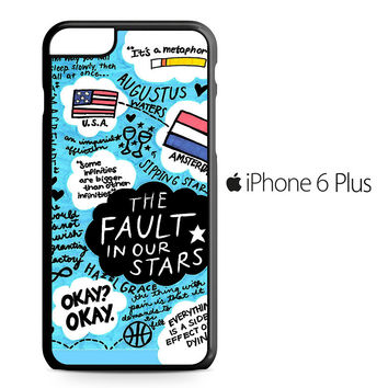 TFIOS Quotes Collage iPhone 6/6S Plus Case