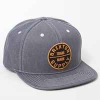 Brixton Oath III Blue Snapback Hat - Mens Backpack - Blue - One