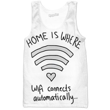 Home Is Where Wifi Connects Automatically Tank