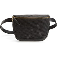 Clare V. Perforated Leather Fanny Pack | Nordstrom