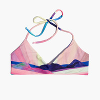 Mara Hoffman® Basketweave Bikini Top in Landscape - AllProducts -SHOP ALL- J.Crew
