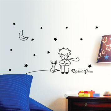 Wall Sticker a Little Prince Boy Stickers Home Decor Wall Decals Sep9