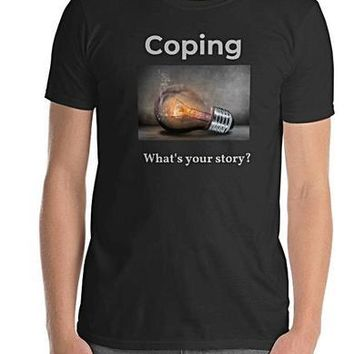 Coping What's your story T-shirt
