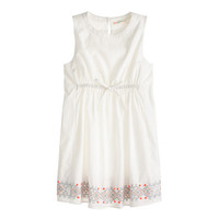 crewcuts Girls Embroidered-Hem Dress