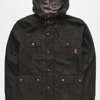 Bohnam Commander Mens Jacket Black  In Sizes