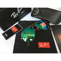 Ray Ban Fashion Sunglasses RB3025 Gold/Green