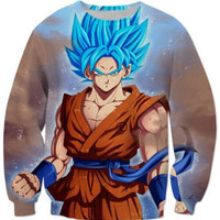 Harajuku 3D Dragon Ball Z Sweatshirt