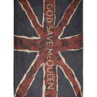 Alexander McQueen Large Printed Modal Scarf | MR PORTER