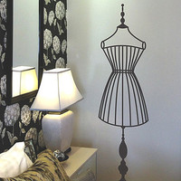 Mannequin Wall Sticker
