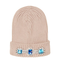 Heavy Embellished Beanie - Beanies - Hats - Bags & Accessories - Topshop USA