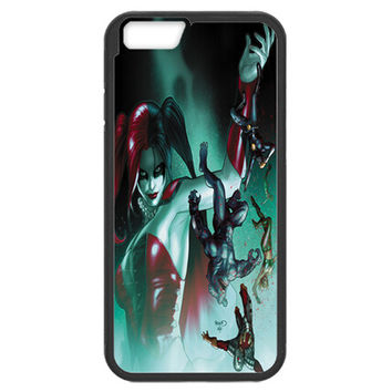 HARLEY QUINN (SUICIDE SQUAD) TPU BUMPER IPHONE 6/6s PLUS (5.5-INCH)