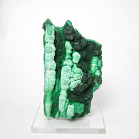 Malachite Stalactites  Natural Mineral Specimen Various Shades of green OOAK