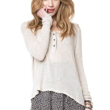 Brandy ♥ Melville |  Nadia Knit Top - Clothing