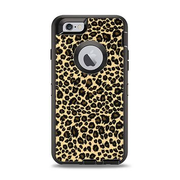 The Small Vector Cheetah Animal Print Apple iPhone 6 Otterbox Defender Case Skin Set
