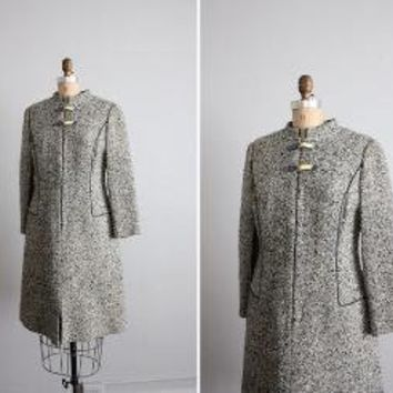 1960s vintage tweed wool shift dress by allencompanyinc on Etsy