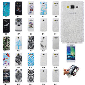 Colorful Wave Style Slim Gel Rubber Silicone Soft TPU Back Case Cover For Samsung Galaxy J3 J300