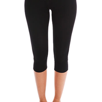 ATM Crop Yoga Tight Black