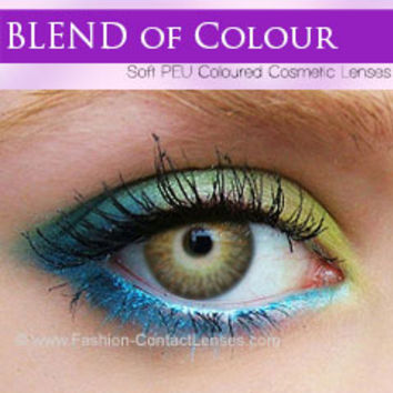 Honey Blend of Colour Lenses