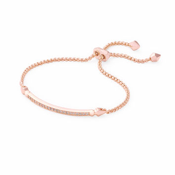 Ott Adjustable Bracelet in Rose Gold | Kendra Scott Jewelry