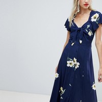 Warehouse floral dress at asos.com
